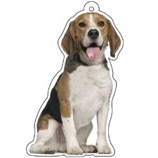 Beagle Air Freshener (Set of 3)