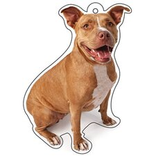 Pit Bull Air Freshener (Set of 3)
