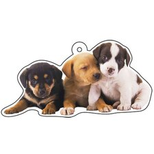 Puppies Air Freshener (Set of 3)