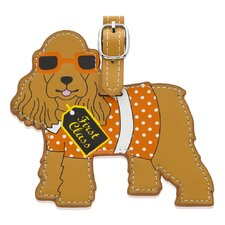 <strong>Little Gifts</strong> Cocker Spaniel Luggage Tag