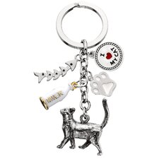 Standing Cat V3 Key Chain