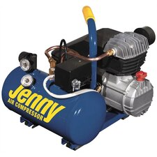 <strong>Jenny Products Inc</strong> 1.5 Gallon Tank 2 HP Electric Hand Carry Portable Air Compressor
