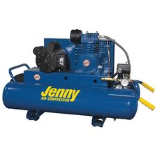 <strong>Jenny Products Inc</strong> 2 HP Electric 115/230 Volt Single Stage Wheeled Portable Air Compressor
