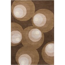 <strong>Filament  LLC</strong> Cinzia Brown Geometric Rug