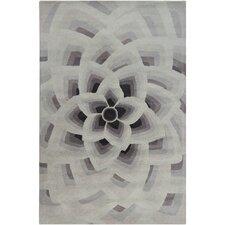 Cinzia Grey Floral Area Rug