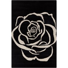 Cinzia Rose Flower Rug