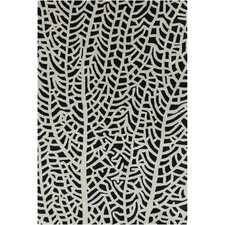 Cinzia Black/White Abstract Rug