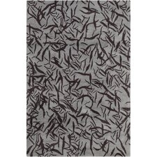 Cinzia Grey Abstract Rug