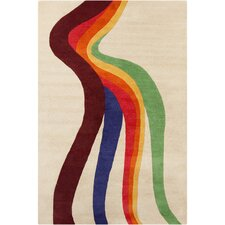 <strong>Filament  LLC</strong> Cinzia Cream/Multi Abstract Rug
