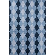 <strong>Filament  LLC</strong> Cinzia Blue Geometric Rug