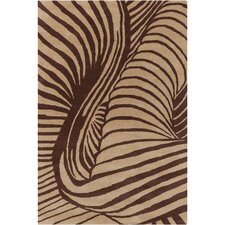 <strong>Filament  LLC</strong> Cinzia Tan/Brown Rug