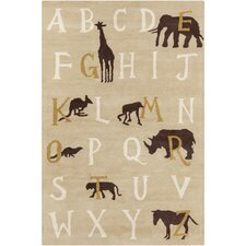 <strong>Filament  LLC</strong> Cinzia Tan Kids Rug
