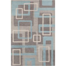 <strong>Filament  LLC</strong> Cinzia Light Grey Mix Geometric Rug