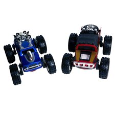 Regenerators Spider-Man and Iron Man Racing (Set of 2)