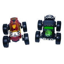 <strong>Playmaker Toys</strong> Regenerators Hulk and Iron Man Racing (Set of 2)