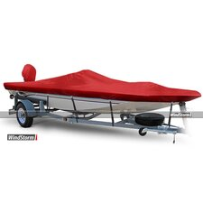 Aluminum V-Jon Boat Cover with High Center Console