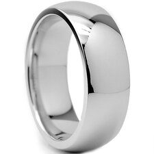 Chrome Cobalt Wedding Band