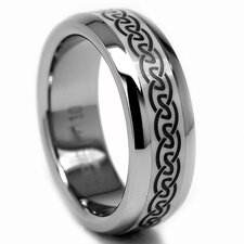 <strong>Bonndorf Laboratories</strong> Titanium / Ceramic Inlay Celtic Band