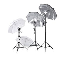 <strong>Square Perfect</strong> Professional Photography Studio Lighting Umbrella Soft Light Kit