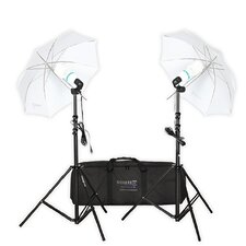 <strong>Square Perfect</strong> Premium Photo Studio Lighting Umbrella Stand Full Spectrum Lights