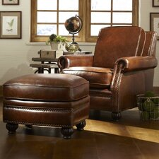 Macon Chair and Ottoman