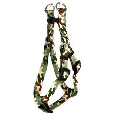 Camo Step-In Harness