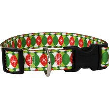 <strong>Yellow Dog Design</strong> Christmas Cheer Standard Collar