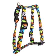 <strong>Yellow Dog Design</strong> Neon Skulls Roman Harness