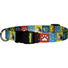 <strong>Yellow Dog Design</strong> Pets for Peace Standard Collar