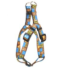 <strong>Yellow Dog Design</strong> Tiki Print Step-In Harness