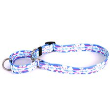 Tropical Flowers Martingale Collar