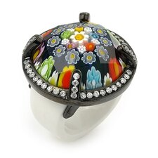 Exquisite Murano Glass Ring