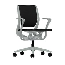 Purpose Mid-Back Chair with Arms