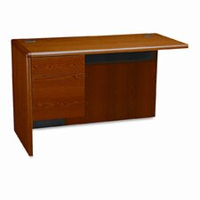 "10700 Series 29.5"" H x 48"" W Left Pedestal Desk Return"