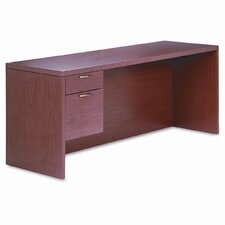 <strong>HON</strong> 11500 Series Valido Desk with Right Pedestal Credenza