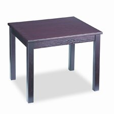 5100 Series Wood End Table, Rectangular, 24w x 20d x 20h, Mahogany