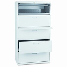 500 Series Five-Drawer Lateral File