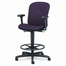 Mirus Series Swivel Task Drafting Chair