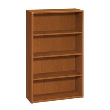 "10700 Series 57"" H Four Shelf Bookcase"