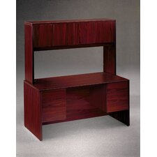 "10500 Series Kneespace Credenza with 3/4"" Height Pedestals"