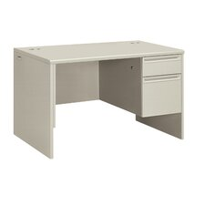 "<strong>HON</strong> 38000 Series 48"" W Right Pedestal Office Computer Desk"
