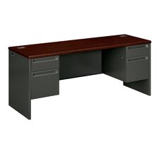 38000 Series Executive Desk with Pedestal