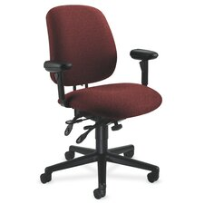 High-Back Performance Managerial Chair with Seat Glide