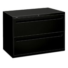 "<strong>HON</strong> 700 Series 42"" W Two-Drawer Lateral File"