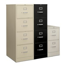 "<strong>HON</strong> H320 Series 52"" H Four-Drawer Legal Vertical File"