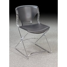 Olson Series Flex Stacker Armless Chairs (Set of 4)