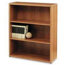 10500 Series Bookcase, 3 Shelves, 36W X 13-1/8D X 43-3/8H