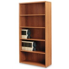 10500 Series Bookcase, 5 Shelves, 36W X 13-1/8D X 71H