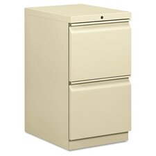 <strong>HON</strong> Efficiencies Mobile Pedestal File with Two File Drawers, 19-7/8D