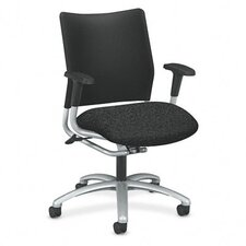 Mid-Back Armless Swivel / Tilt Office Chair